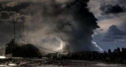 Последствия катастрофы в Черном море (фото)
