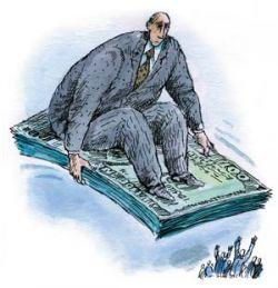 Вознаграждение топ-менеджеров российских банков далеко не всегда зависит от качества их труда