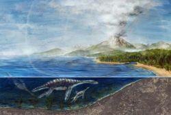 Две основные причины гибели динозавров