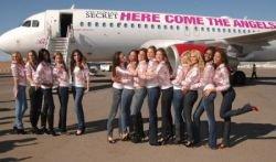 Модели Victoria's Secret прибыли в Лос-Анджелес для участия в самом красочном показе моды (фото)