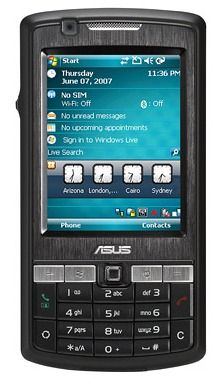 ASUS P750: GPS-коммуникатор для бизнес-пользователей