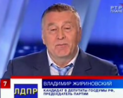 Дебаты Путина с Жириновским