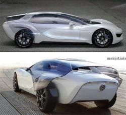 Volkswagen Viseo - концептуальный электромобиль