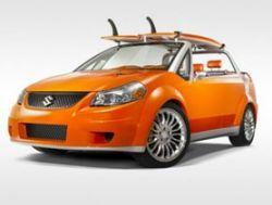 Suzuki представила автомобиль для серфингистов - Suzuki Makai