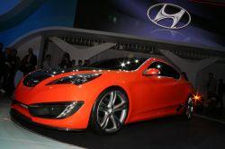 Долгожданная премьера Hyundai Genesis Coupe 2009