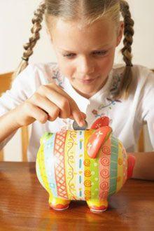 Воспитание ребенка: выделяем ребенку карманные деньги