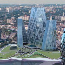 """Жилой комплекс по проекту знаменитого японского архитектора Кионори Кикутаке построят рядом с \""""Москвой-Сити\"""""""