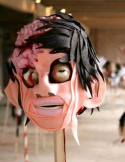 Головы зомби от художника Адама Паркера Смита (фото)