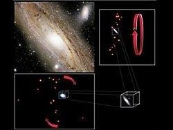 Новость на Newsland: Вокруг Андромеды находится странный галактический диск