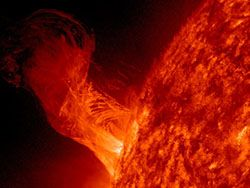 Новость на Newsland: НАСА зафиксировала невероятные взрывы на Солнце