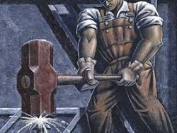 Лишь мир социалистической работы снимет отчуждение рабочего от процесса...