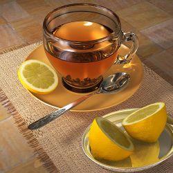 Добавляйте цитрусовый сок в зеленый чай