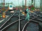 В Германии завершилась забастовка на железной дороге: руководство нанимает новых машинистов