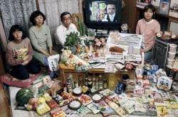 Еда из разных уголков планеты – гастрономические предпочтения семей по всему миру (фото)