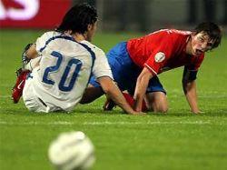 Россия проиграла Израилю со счетом 1:2 и, скорее всего, не попадет на Евро-2008