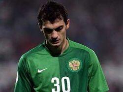 Вратарь сборной России Владимир Габулов взял на себя вину за поражение в игре с Израилем