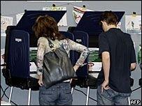 Машины для голосования в России