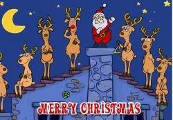 Новогодняя флэшка: Праздничный хор из оленей