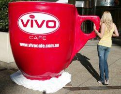 Самая большая чашка кофе в Австралии (фото)