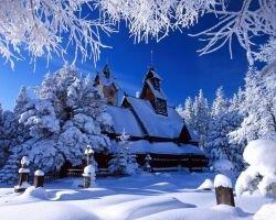 Снегопад обесточил центральные графства Англии и Уэльс
