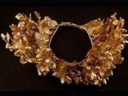 Новость на Newsland: В Греции обнаружили золотой венок македонской эпохи
