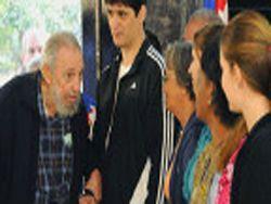 Дряхлый Фидель Кастро предстал перед кубинцами