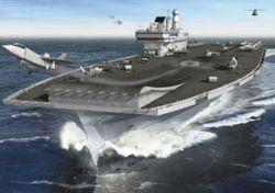 Франция и Великобритания помогут друг другу в строительстве авианосцев