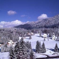 В горах Румынии туристы заблокированы в отеле