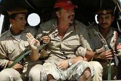 Киногруппу Юрия Грымова арестовали за ввоз оружия в Египет