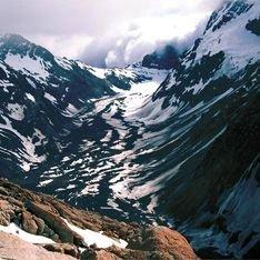 Гигантский ледник в Новой Зеландии разваливается на куски