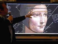 """Французский инженер Паскаль Котт разглядел в картине \""""Дама с горностаем\"""" руку Леонардо да Винчи"""