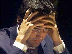 Шахматисты Владимир Крамник и Вишванатан Ананд разошлись во взглядах