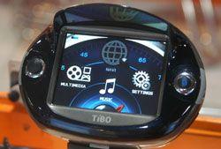 TiBO RM-A4000 – новый GPS-навигатор для байкеров
