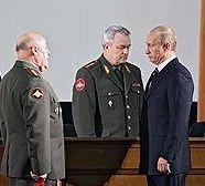 Владимир Путин устроил разнос составу вооруженных сил России