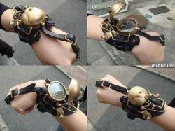 Большая коллекция часов в стиле steampunk (фото)