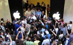 Продажи Apple: сумасшествие в Нью-Йорке