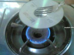Экстремальный способ восстановления поврежденных дисков (фото)