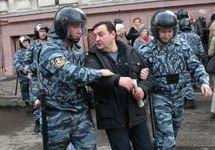 """В Москве и Петербурге милиция проводит зачистку \""""несогласных\"""""""