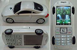 Автолюбителям предложили мобильник в форме Audi TT