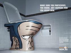 Сантехнические эмоции скандальной рекламной компании New Ad (фото)