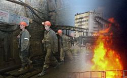 Из-за пожара на шахте им. Засядько в Украине прекратили поиск горняков