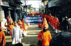 В Индии мирная демонстрация переросла в погромы