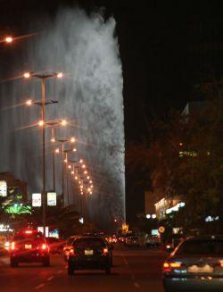 Самый высокий в мире фонтан (видео)