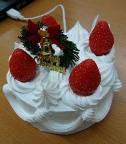 Рождественский USB-торт (фото)