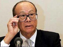 Самым богатым человеком Китая стал гонконгский миллиардер Ли Кашин