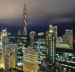 В Чикаго строится самый высокий жилой небоскреб в мире