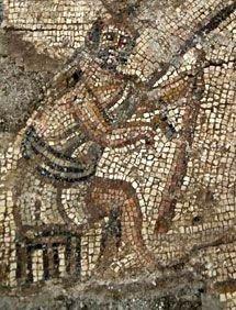 В Израиле откопали необычную синагогу с византийской мозаикой