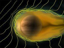 Новость на Newsland: Ученые обнаружили планету с хвостом кометы