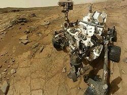 """Марсоход """"Кьюриосити"""" пробурил скважину на Марсе"""