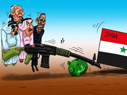 """Как сидится в луже вооруженной сирийской """"оппозиции""""?"""
